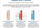 Artistry Gifts August 2016 Selection Time + Coupon