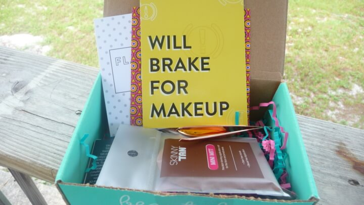 Beauty Box 5 July 2016 Subscription Box Review & Coupon – Will Brake For Makeup
