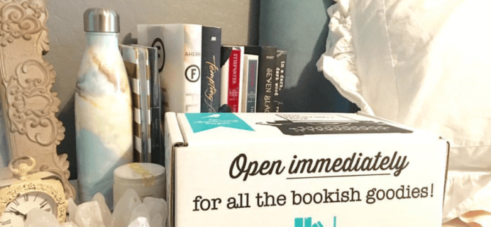 The Bookish Box August 2016 Spoilers & Coupon!