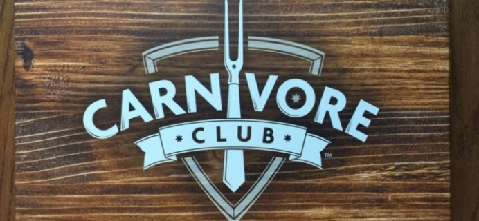 Carnivore Club July 2016 Subscription Box Review & Coupon