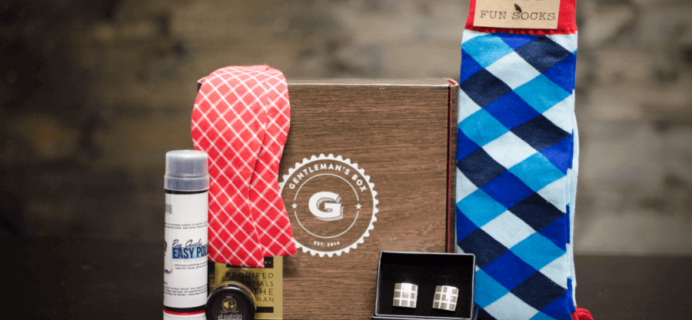 Gentleman's Box December 2016 Spoilers + Coupon!