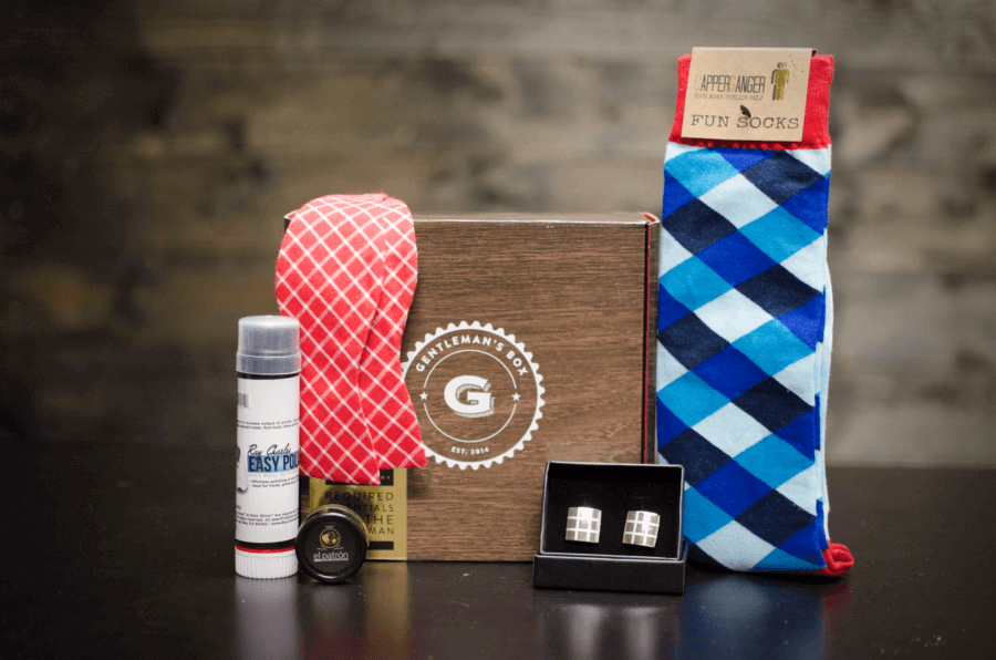 Gentleman's Box January 2017 Spoilers + Coupon!