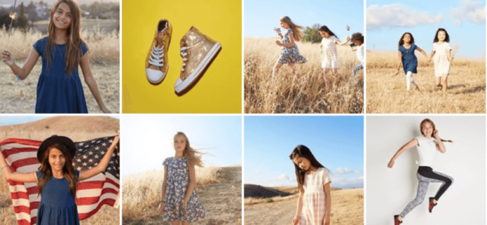 FabKids July 2016 Collection + BOGO Shoes, Free Shipping + $10 Credit For New Members!