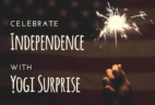 Yogi Surprise Independence Day Coupon – 25% Off!