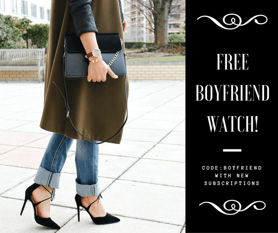 Your Bijoux Box Coupon – Free Rose Gold Watch + 50% Off First Month!
