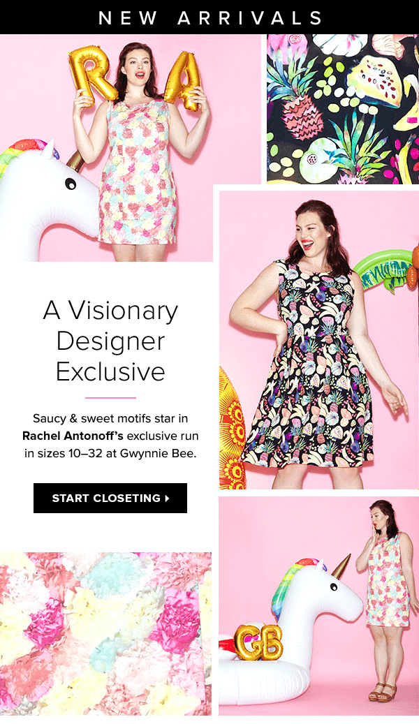 Gwynnie Bee Now Offering Designer Rachel Antonoff  + 30 Day Free Trial!