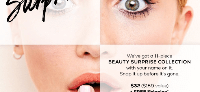 TODAY ONLY: bareMINERALS Beauty Surprise Collection!