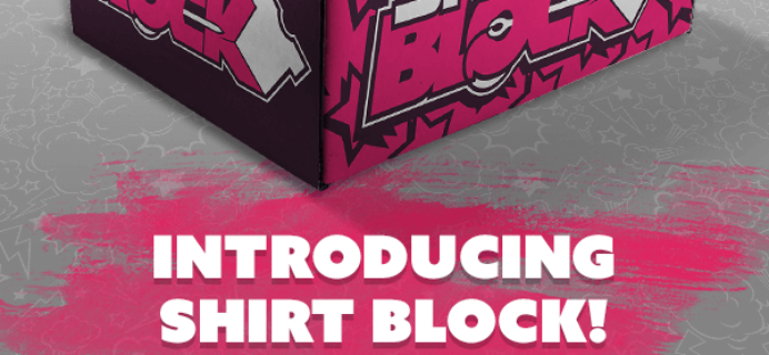 New Subscription Box from Nerd Block: Shirt Block! + Coupon!