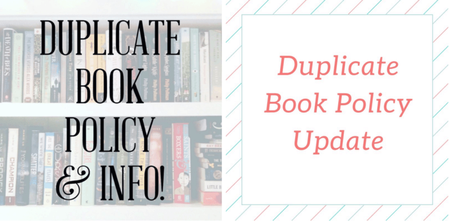 Uppercase Box Duplicate Book Policy Update