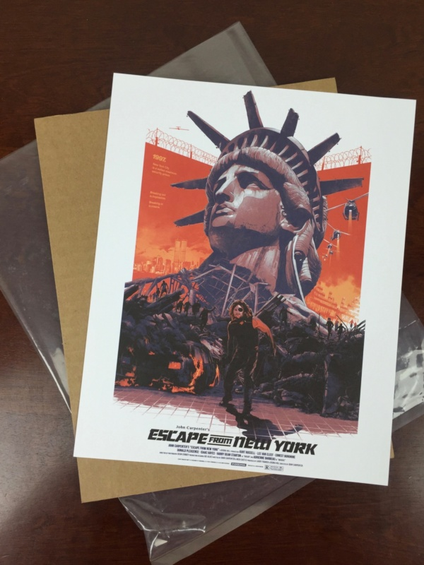 loot crate dx june 2016 escape from new york print