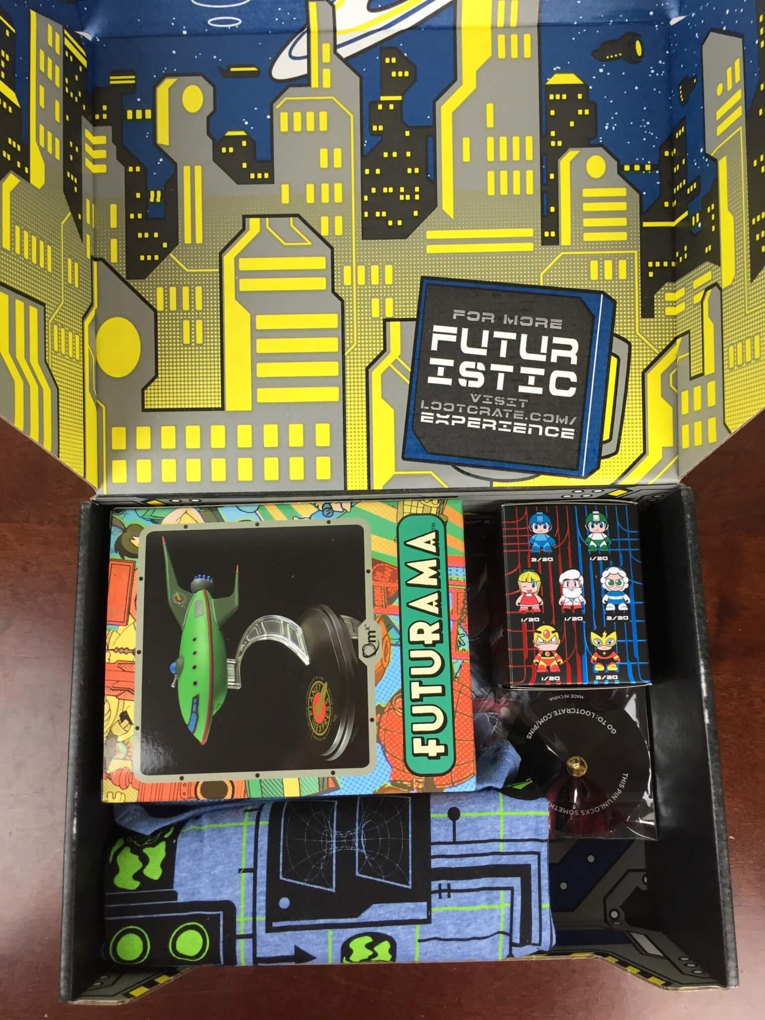 Loot Crate July 2016 Review + Coupons - FUTURISTIC - hello ...