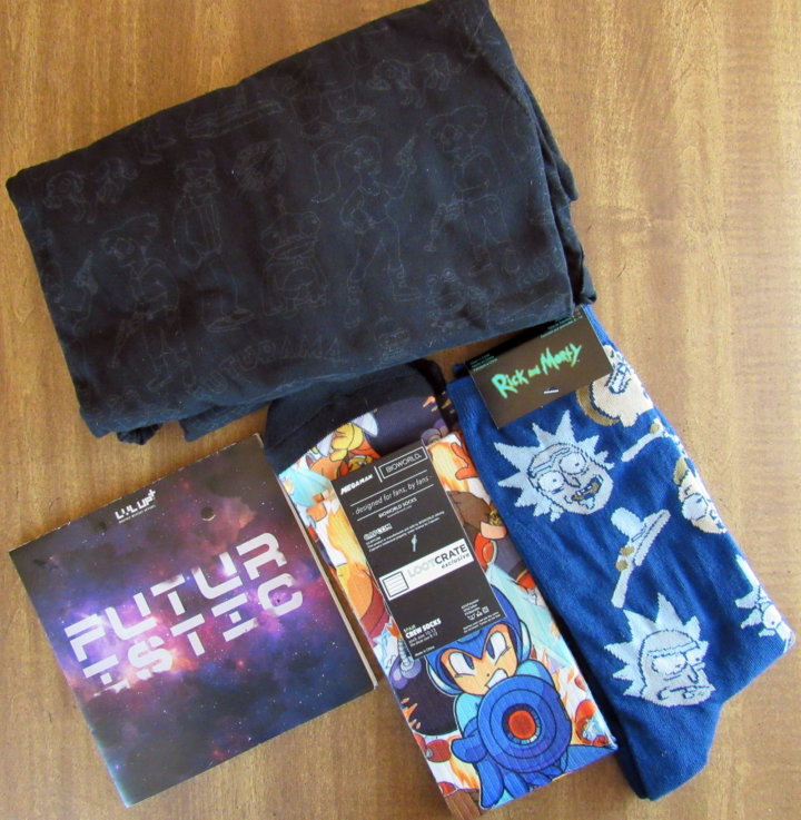 Loot Crate Wearable Bundle - July 2016