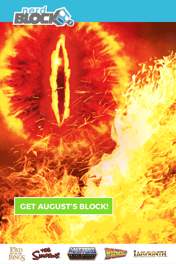 Nerd Block August 2016 Spoiler #2 & Coupon