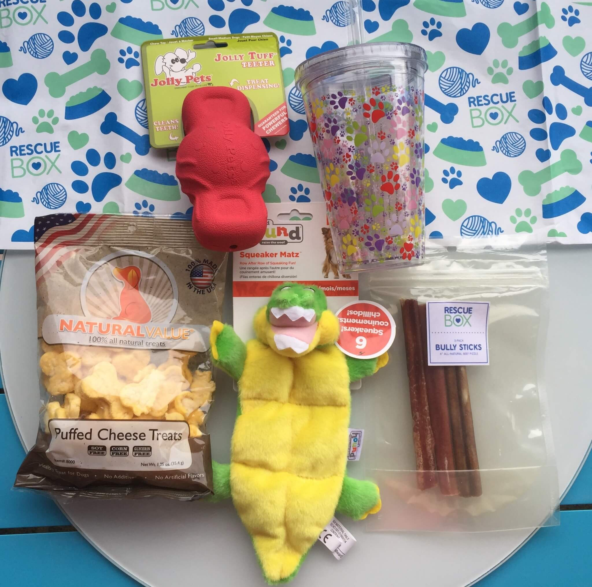 Rescue Box July 2016 Subscription Box Review