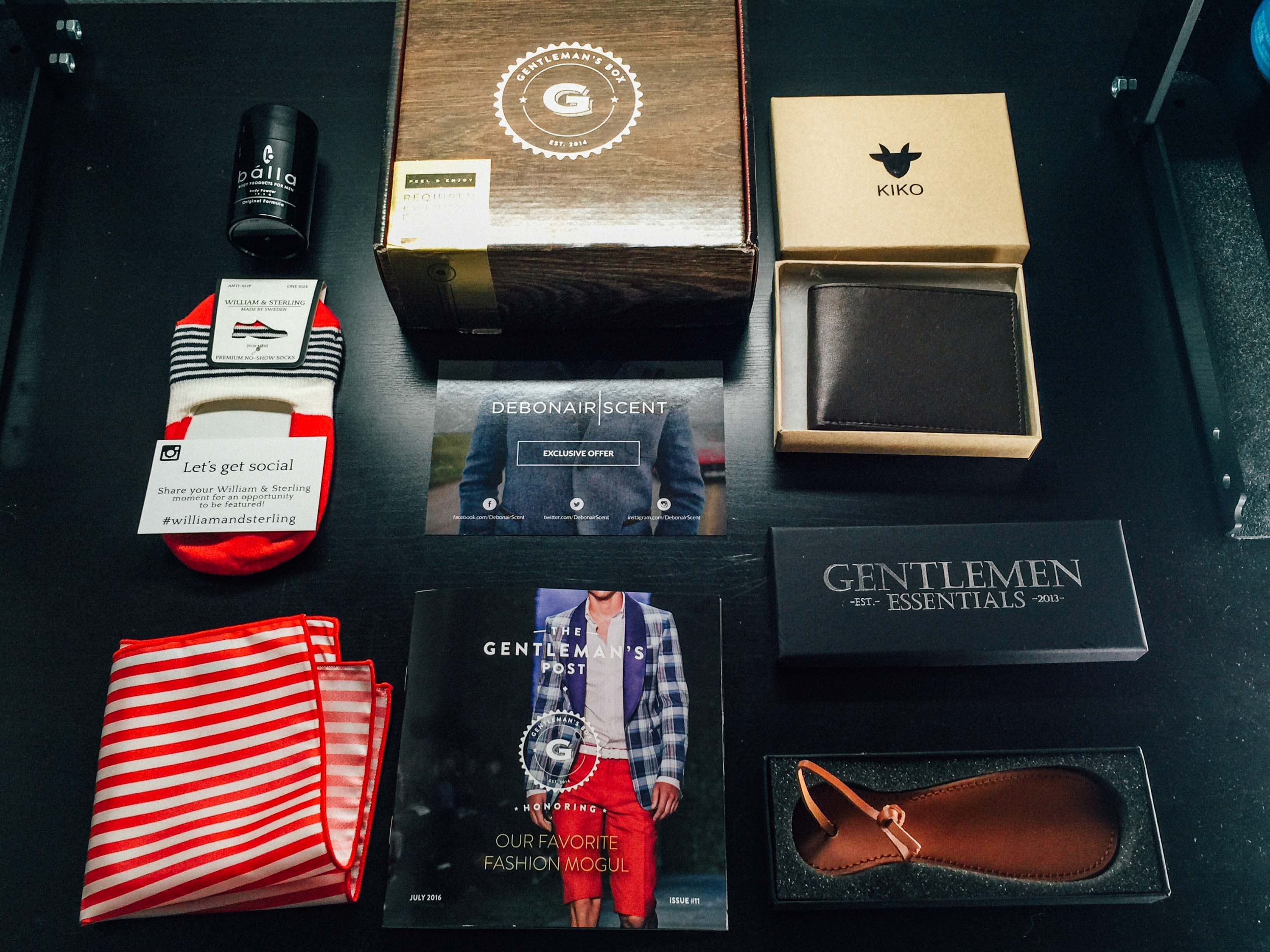 Gentleman's Box Review & Coupon – July 2016