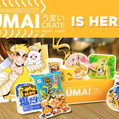 Umai Crate – New Subscription Box from Japan Crate Back Again!