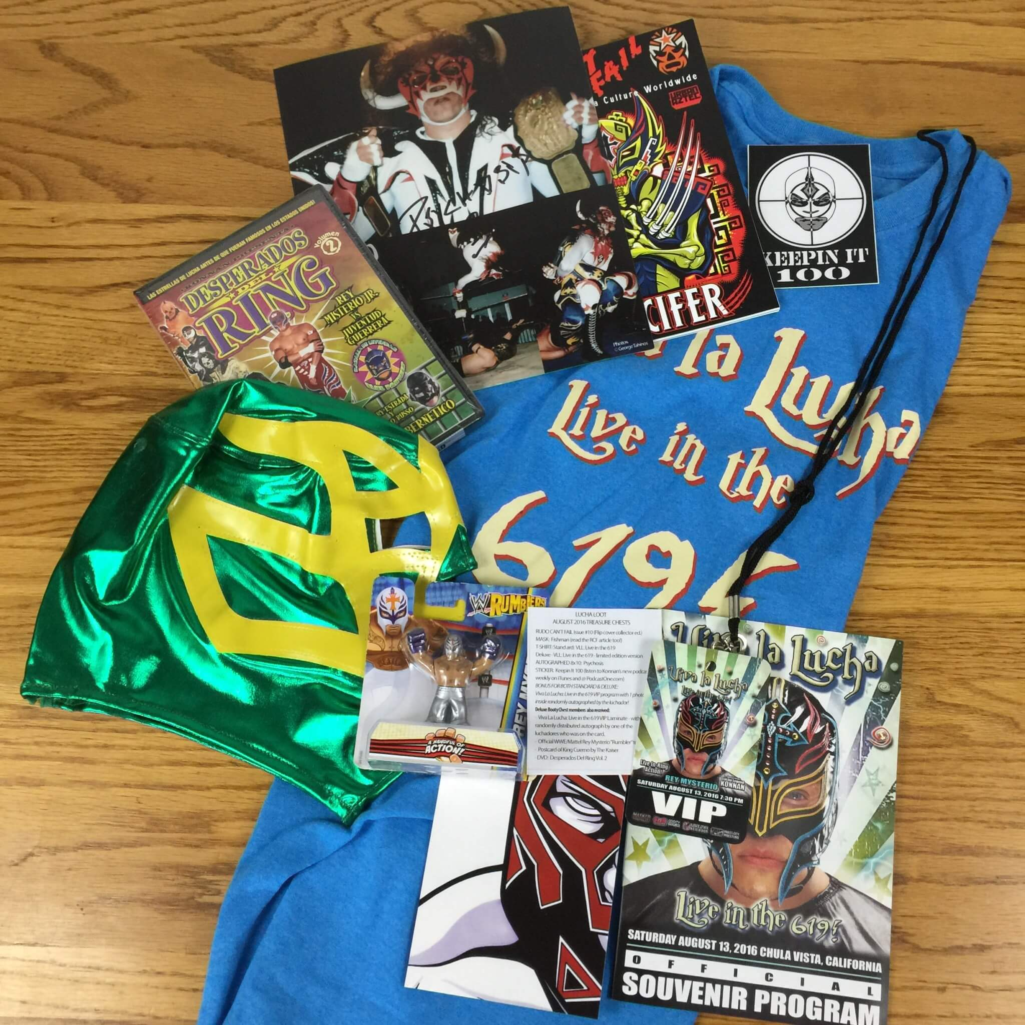 Lucha Loot Subscription Box Review & Coupon – August 2016
