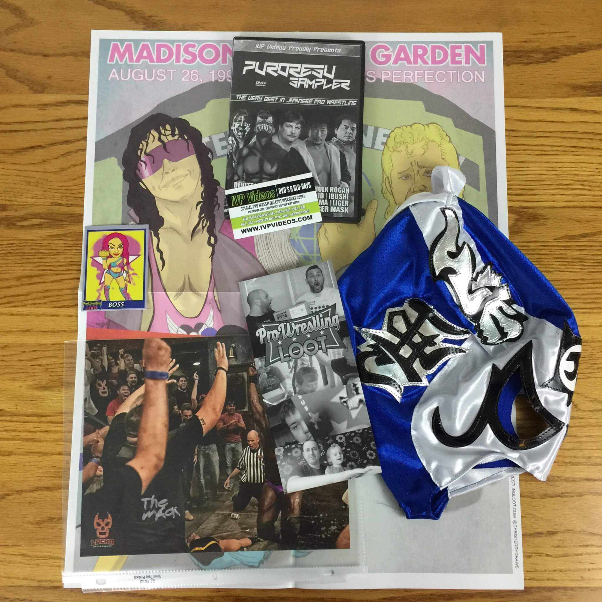 Pro Wrestling Loot August 2016 Subscription Box Review + Coupon