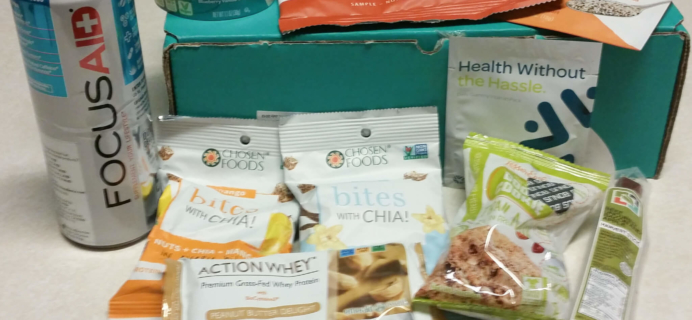 FitSnack July 2016 Subscription Box Review & Coupon