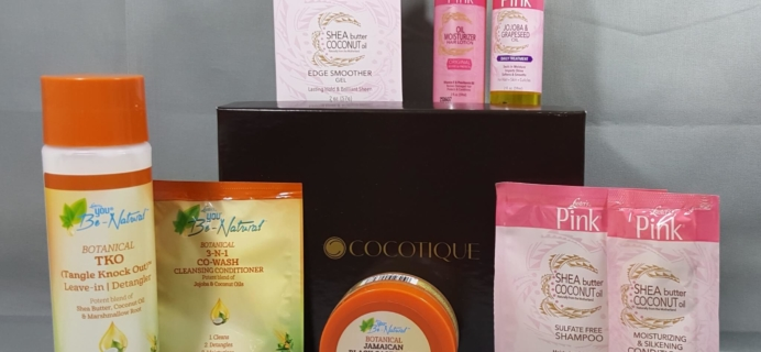 Cocotique July 2016 Subscription Box Review