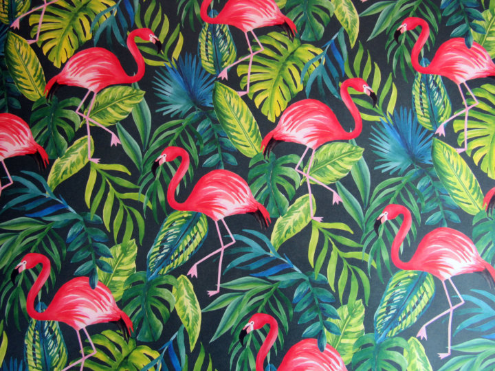 Papersource Flamingos WrappeingPaper