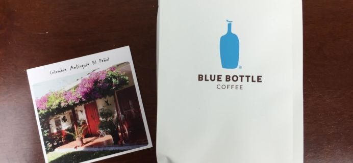 Blue Bottle Coffee Review + Free Trial Offer – August 2016