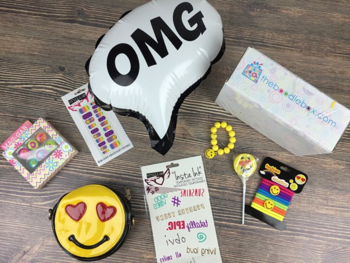 Boodle Box September 2016 review