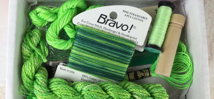 Broderi Box August 2016 Subscription Box Review