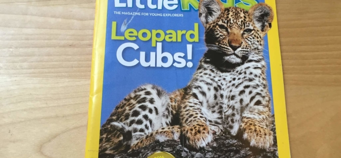 National Geographic Little Kids Magazine Subscription Review – September/October 2016
