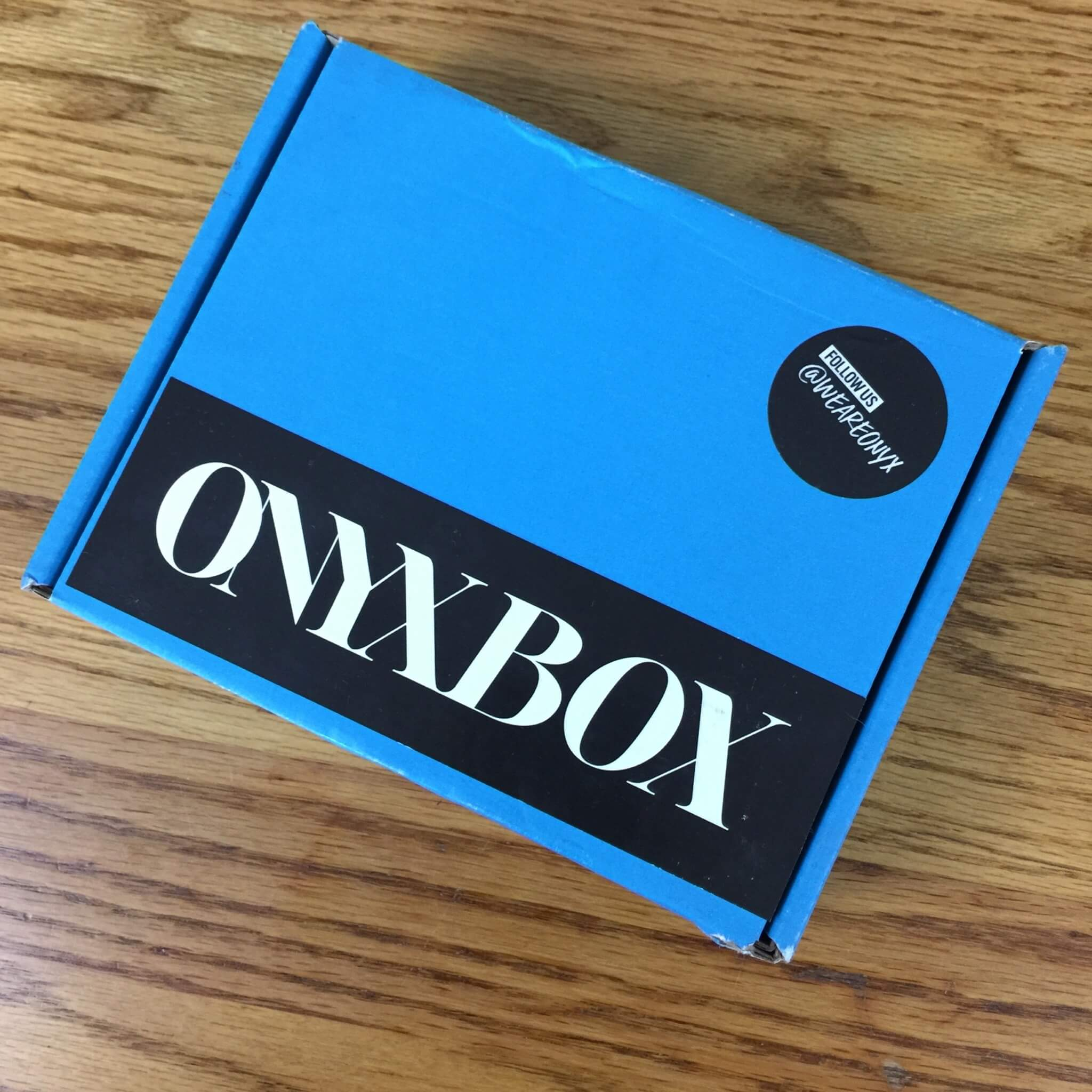 We Are Onyx ONYXBOX August 2016 Subscription Box Review