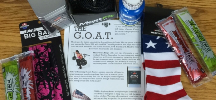 Strength Crate Subscription Box Review – September 2016