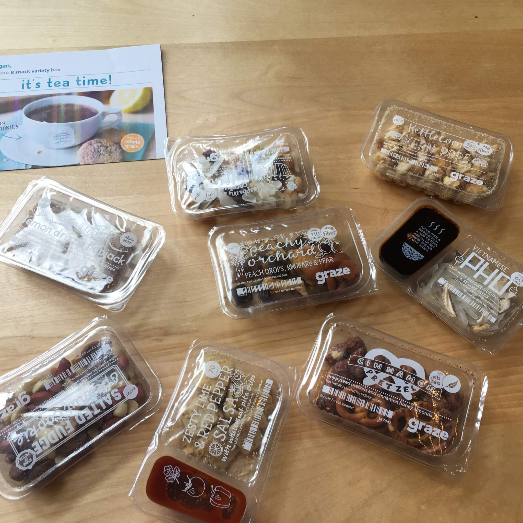 Graze September 2016 Subscription Box Review & Free Box Coupon