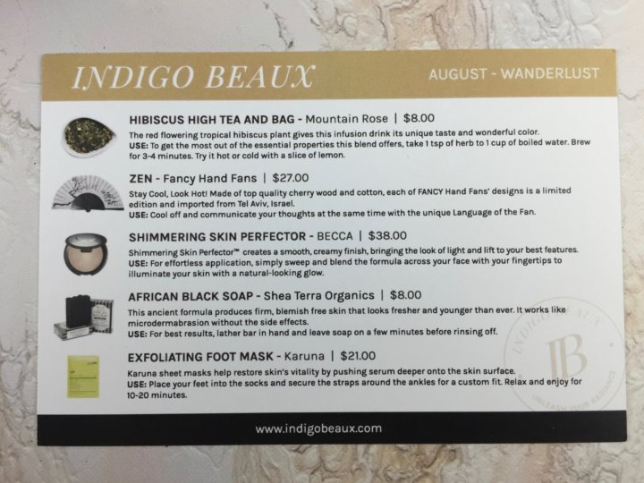 Indigo Beaux August 2016 (1)