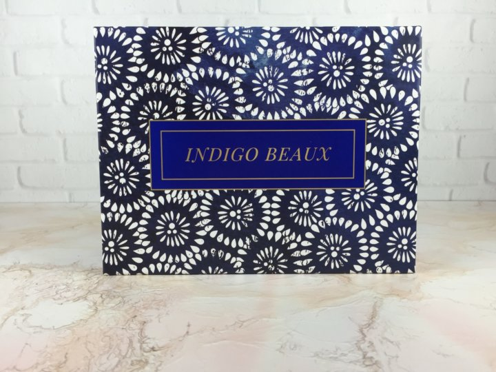 Indigo Beaux August 2016 box