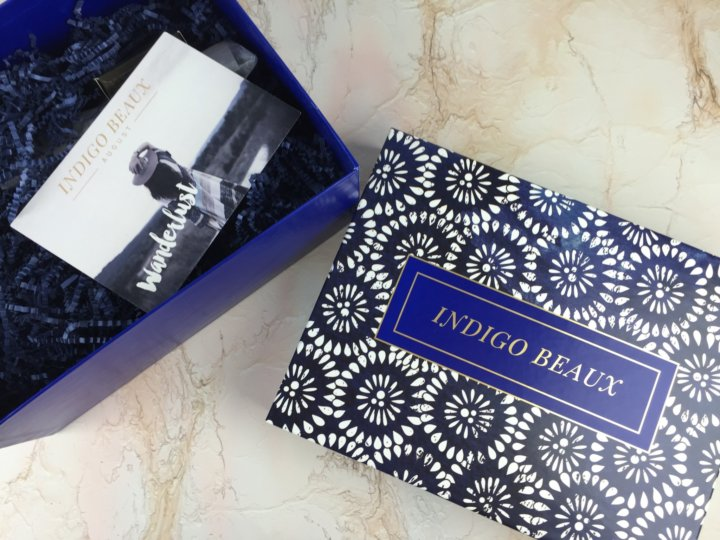 Indigo Beaux August 2016 unboxing