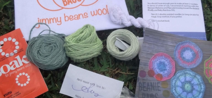 Jimmy Beans Wool Beanie Bag Subscription Review – August 2016