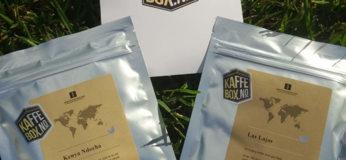 KaffeBox August 2016 Subscription Box Review