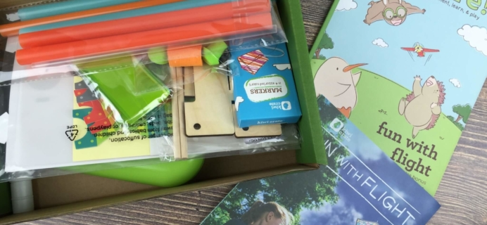 August 2016 Kiwi Crate Review & Coupon – Fun With Flight!