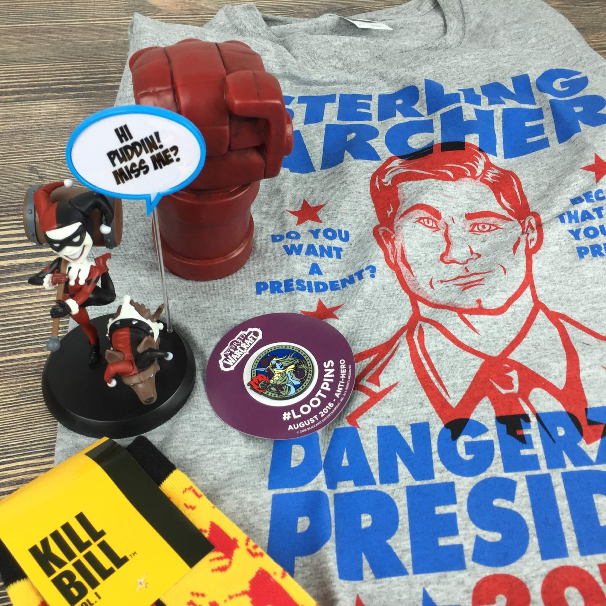 Loot Crate August 2016 Review + Coupons – ANTI-HERO