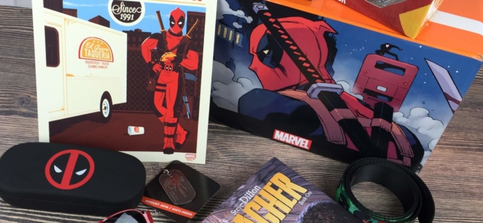 Loot Crate DX August 2016 Subscription Box Review & Coupon