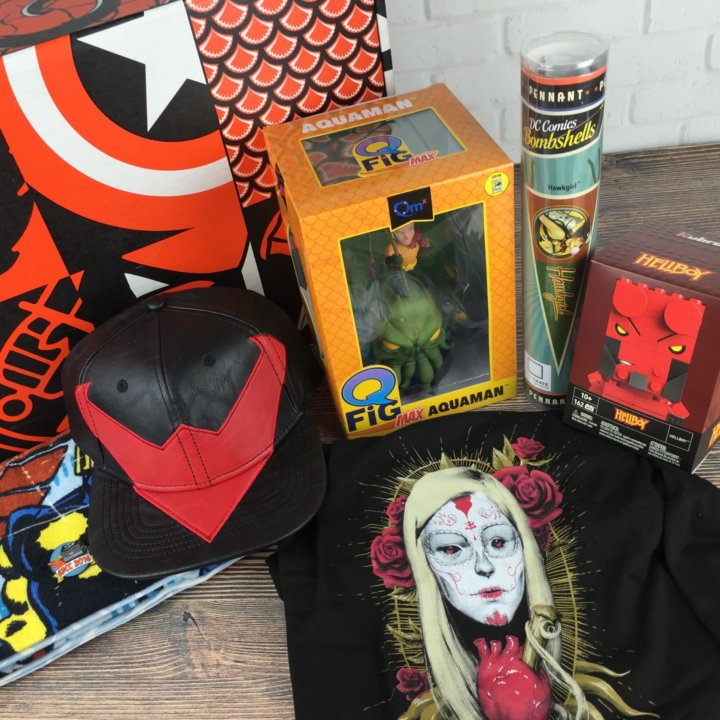 Loot Crate SDCC 2016 Limited Edition review