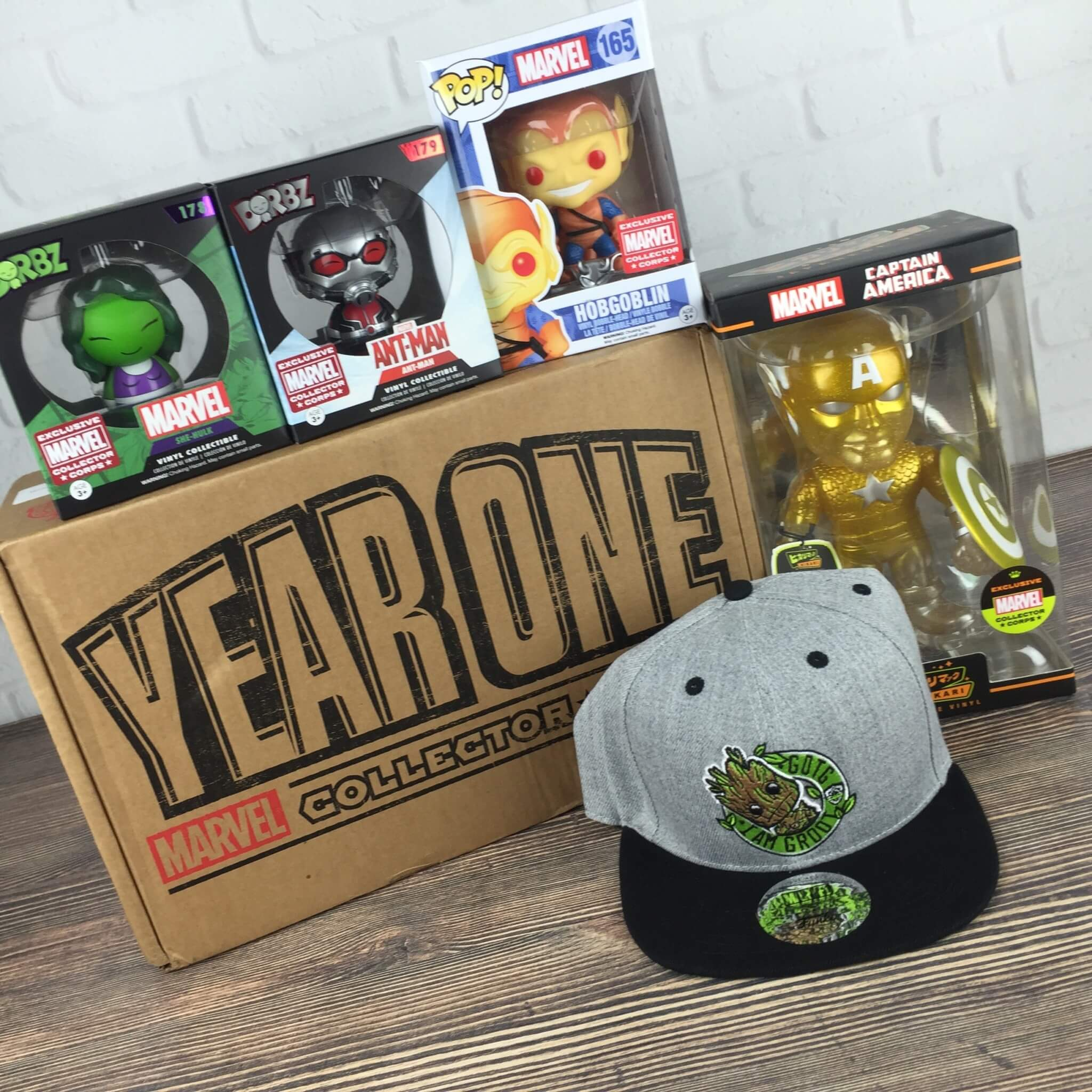 Marvel Collector Corps YEAR ONE Super Box Review