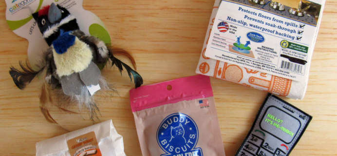 August 2016 Meowbox Subscription Box Review & Coupon