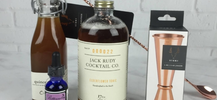 Mixology Monthly August 2016 Subscription Box Review + Coupon