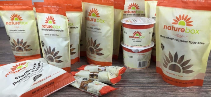 NatureBox August 2016 Subscription Box Review & Coupon