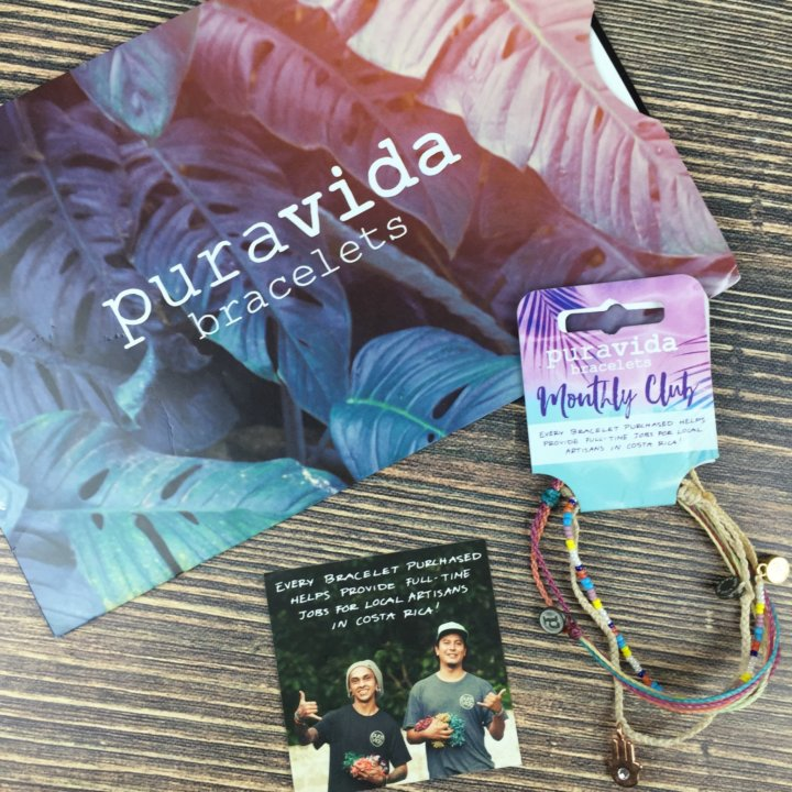 Pura Vida Monthly Club August 2016 reviews