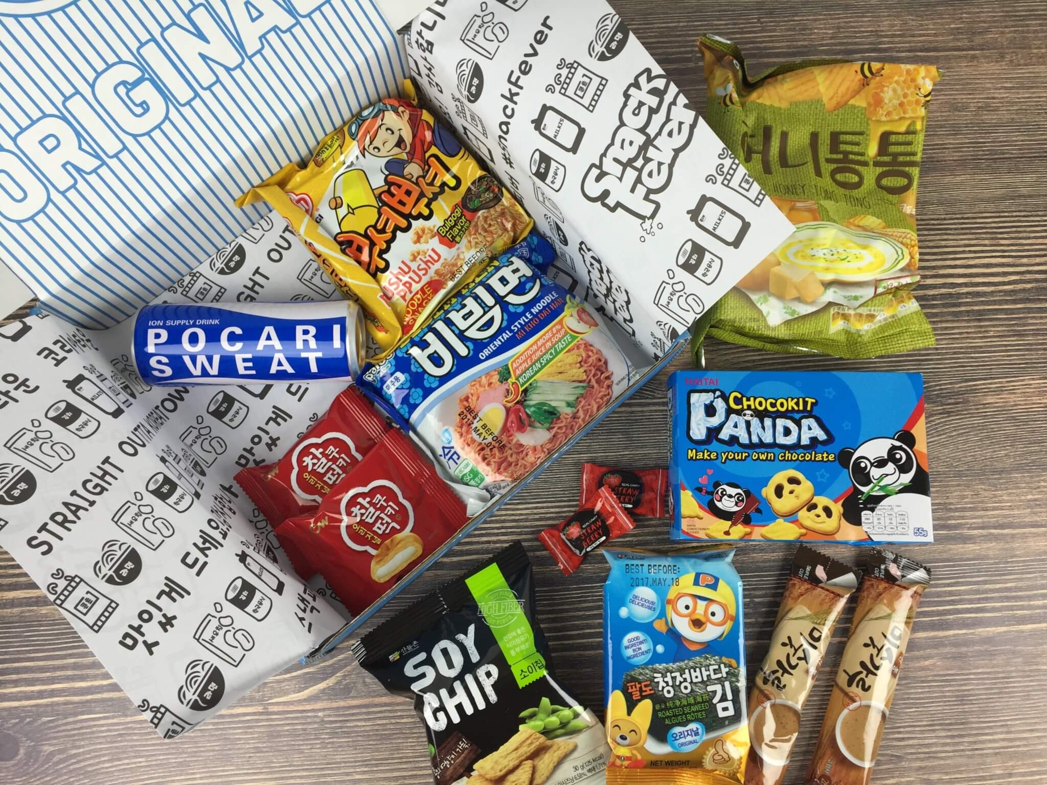 August 2016 Snack Fever Subscription Box Review + Coupon