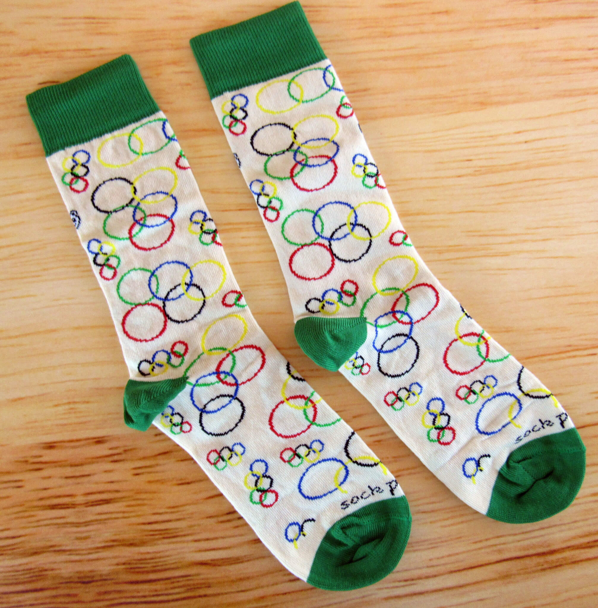 Olympic Themed Socks