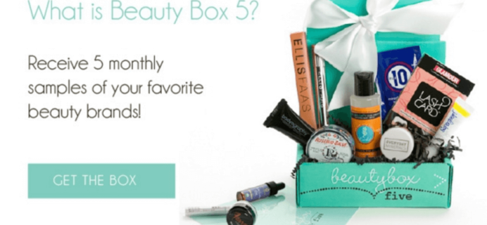 Beauty Box 5 August 2016 Spoiler + Coupon