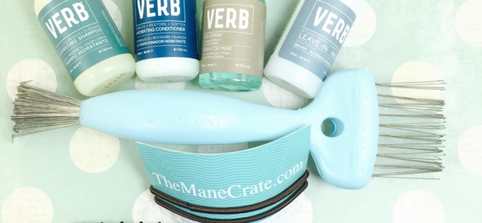 Mane Crate August 2016 Subscription Box Review